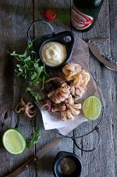 salt & pepper squid