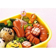 Japanese Bento Cute Food Wiener Cutter Flower