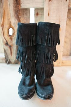 have and love my 3 Layer Fringe Black Boots