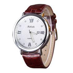 >> Click to Buy <<  Reloj 2017 New Design Bestselling Leisure Diamond Watch Quartz Leather Analog Wrist Watch  17feb10 #Affiliate