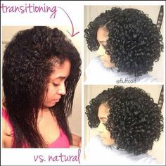 Let's Talk About Hair Growth Let's Just Keep It Natural transitioning to natural hair styles - Natural Hair Styles Natural Hair Tips, Natural Hair Journey, Natural Hair Styles, Going Natural, Relaxed Hair Journey, Big Chop Natural Hair, Natural Hair Transitioning, Transitioning Hairstyles, Big Chop Hairstyles