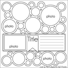 Image result for cricut scrapbook layouts family tree