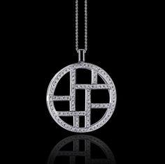 Urban chic. Metropolis diamond necklace by Stefano Canturi