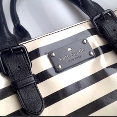 •KATE SPADE• Black And Cream Purse More Pictures Size kate spade Bags