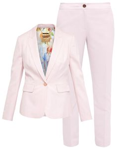 These Spring Suits Will Up Your Work Wear Game - Ted Baker London  - from InStyle.com