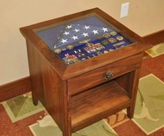 Thus would be an awesome retirement gift for that special military man/woman in your life.