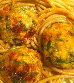 Pescetarian Journal: Succulent Wild Salmon Meatballs