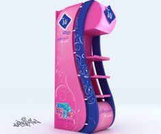 Unilever Signal & Axe (Pillar's) by HossaM Alabyad, via Behance
