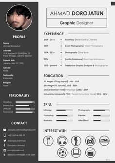 RESUME CV Curriculum Vitae Creative Cv Template, Cv Design Template, Modern Resume Template, Creative Resume, Resume Words, Resume Cv, Student Cv Examples, Cv Simple, Bio Data For Marriage