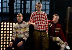 Jonathan Saunders, Gq, Christmas Sweaters, Button Down Shirt, Men Casual, London, Mens Tops, Shirts, Image