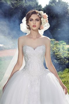 "Milva is a Russian bridal house whose wedding dresses are designed with the elegant bride in mind. The 2016 ""Fairy Gardens"" Collection is pure magic."