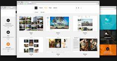 Koken - Create website publishing