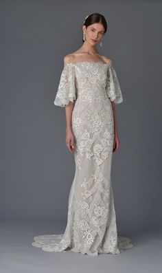 See Marchesa's Seriously Romantic Wedding Dresses for Spring 2017   TheKnot.com