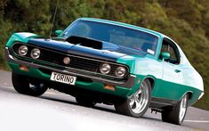 ford gran torino classic muscle cars wallpaper