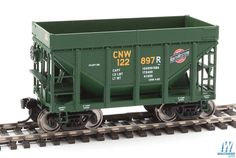Walthers - 24' Michigan Taconite Ore Car 6-Pack - Ready To Run - Chicago & North Western(TM) #112425, 118705, 122457, 122973, 122885, 122897 - 910-58152