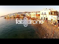 drone aerial view of Mykonos island - Cyclades Cyclades Greece, Super Paradise Beach, Mykonos Blue, Mykonos Villas, Mykonos Island, Greece Islands, Greece Travel, Aerial View, Travel Guide