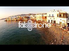 Smile Greek: Mykonos island aerial video