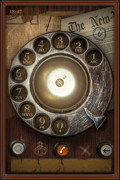 Old fashioned phone app