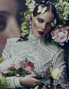 Ornate Expectations editorial photographed by Andrew Yee for How to Spe    nd It Magazine.