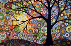 trees in modern paintings - Buscar con Google