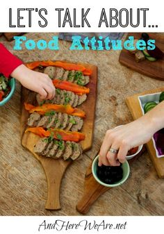 "Can we talk for minute about food attitudes? There is a quote that is widely circulated on many pages I follow which says, ""Every bite you…"