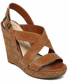 Jessica Simpson Jerrimo Platform Wedge Sandals - Espadrilles & Wedges - Shoes - Macy's