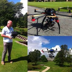Piloting the unmanned aircraft system Aerial Camera, Scotland, Pilot, Aircraft, Aviation, Pilots, Planes, Airplane, Airplanes