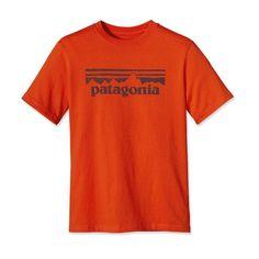 Patagonia Boys' Stamp Logo T-Shirt