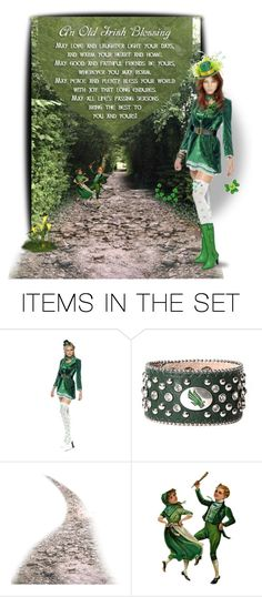 """Irish Blessing"" by chileez ❤ liked on Polyvore featuring art"