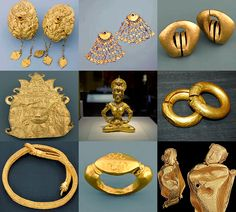 Gold artifacts of the Philippines via Pinoy Culture