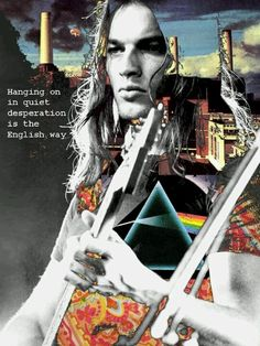 ☮ American Hippie Psychedelic Art Classic Rock Music ~ Pink Floyd Hanging on in quiet desperation is the English way