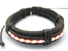 Shoply.com -Man cuff leather bracelets the best gift for man  cowboy. Only $3.00