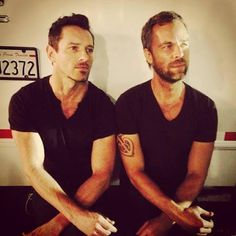 Teen Wolf Cast - JR Bourne and Ian Bohen