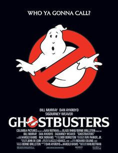 The Most Iconic Movie Posters - Ghostbusters Artist: John DeCuir Jr. The poster's main attraction is the no-ghosts symbol which s - Famous Movie Posters, Marvel Movie Posters, Disney Movie Posters, Famous Movies, Original Movie Posters, Movie Poster Art, Iconic Movies, Old Movies, Vintage Movies