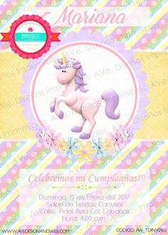 Unicornio Invitaciones Invitaciones de por AVeDesignandWeb en Etsy