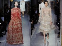 Valentino Haute Couture Paris Fashion Week 2013