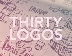 """Check out new work on my @Behance portfolio: """"THIRTY LOGOS"""" http://be.net/gallery/54594425/THIRTY-LOGOS"""