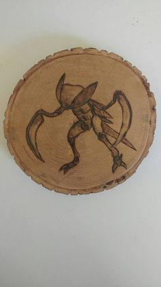 Check out this item in my Etsy shop https://www.etsy.com/ca/listing/476696659/kabutops-pokemon-wood-burning