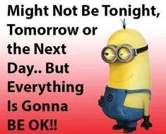 Minion Quotes Images : Funny Minion Pictures With Captions - Fun Sprout Funny Baby Quotes, Cute Quotes, Funny Sayings, Funny Memes, Baby Sayings, Hilarious, Random Quotes, Sign Quotes, Minion Pictures