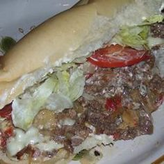Griddle Style Philly Steak Sandwiches Recipe- Need to get some use out of my XMas gift. :)