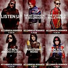 Danger Days posters. I want them ALL