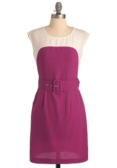 Sheath the One Dress in Berry - so cute for chapter!