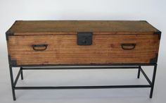 19th c. Japanese Swordchest   From a unique collection of antique and modern coffee and cocktail tables at https://www.1stdibs.com/furniture/tables/coffee-tables-cocktail-tables/