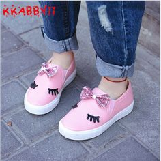 KKABBYII Children Shoes Girls Sneakers New Spring Autumn Cute Bow Fashion Princess Girls Shoes Kids Soft Casual Single Shoes - Kid Shop Global - Kids & Baby Shop Online - baby & kids clothing, toys for baby & kid Girls Sneakers, Girls Shoes, Princess Girl, Princess Shoes, Baby Shop Online, Baskets, Childrens Shoes, Painted Shoes, Cute Bows