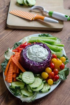 Vegetable Party Tray Tips and a Crisp Cooking Giveaway! - From Valerie's Kitchen #giveaway #createwithcrisp #sponsored
