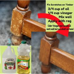 DIY furniture polish