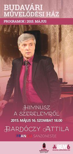 műsorfüzet Budavári Művelődési Ház  2015 május