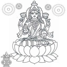 Coloring Pages Creative Rangoli Designs Using Colours Diwali Craft With - yintan. Free Kids Coloring Pages, Colouring Pages, Printable Coloring Pages, Indian Traditional Paintings, Indian Art Paintings, Kerala Mural Painting, Silk Painting, Rangoli Designs, Diwali Goddess