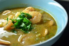 Spicy Shrimp and Chicken Sausage Gumbo (makes 4 servings – 7 WW points each)