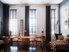 19th Century Fort Greene firehouse converted to a 3,000 sq. ft. loft